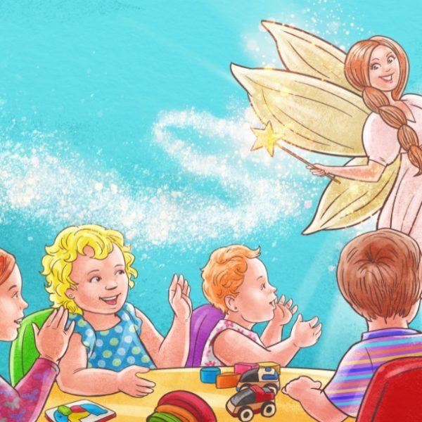 Saga Pufosilor, carte ilustrata pentru copii